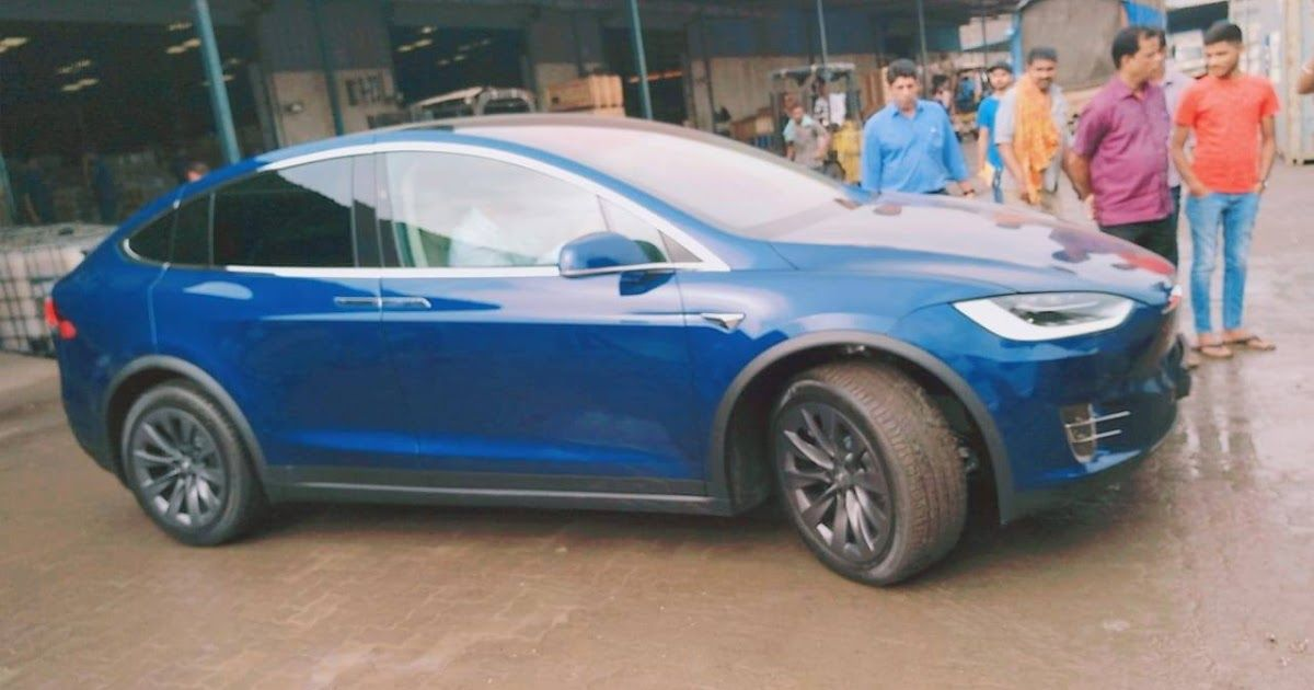 India S First Tesla Model X 100d All Electric Suv With 450 Model X Tesla Tesla Model X 100d Review Greencarguide Co Tesla Model X Tesla Model Jaguar Models