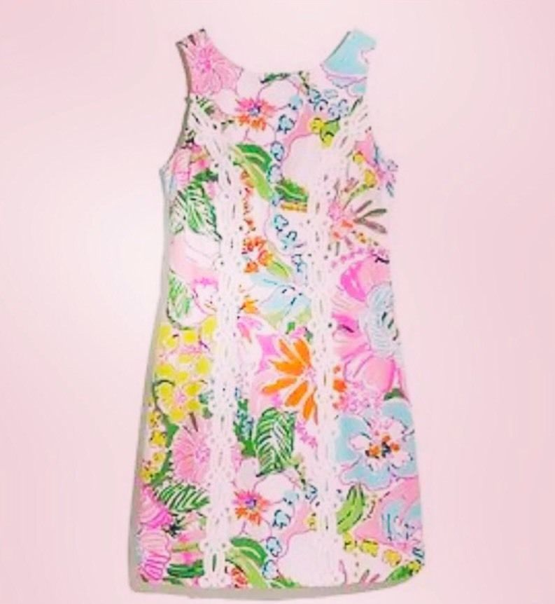 LILLY PULITZER FOR TARGET WOMEN\'S NOSEY POSEY Nosie Posie SHIFT ...