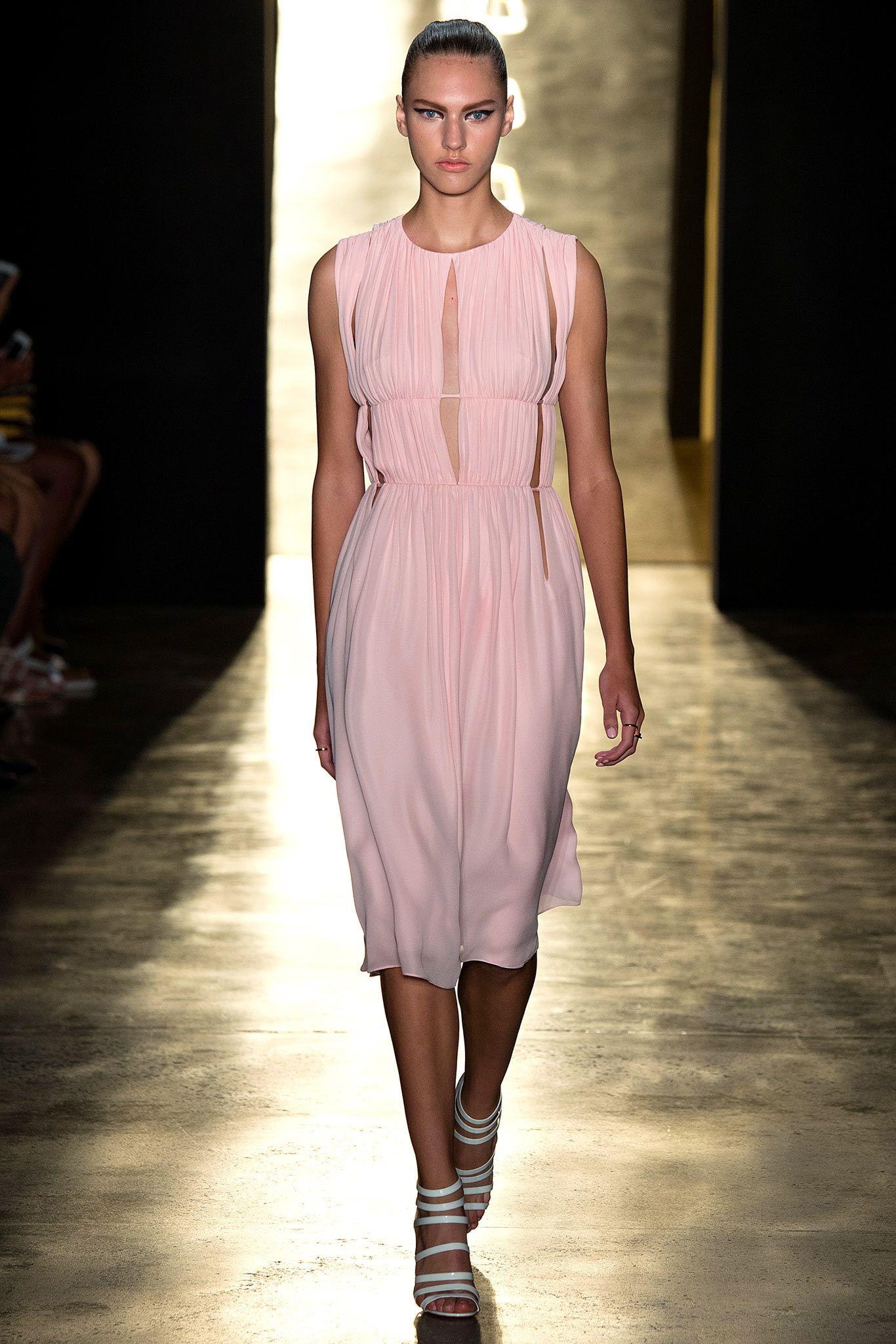 Cushnie et Ochs Spring 2015 Ready-to-Wear Fashion Show - Maggie Jablonski