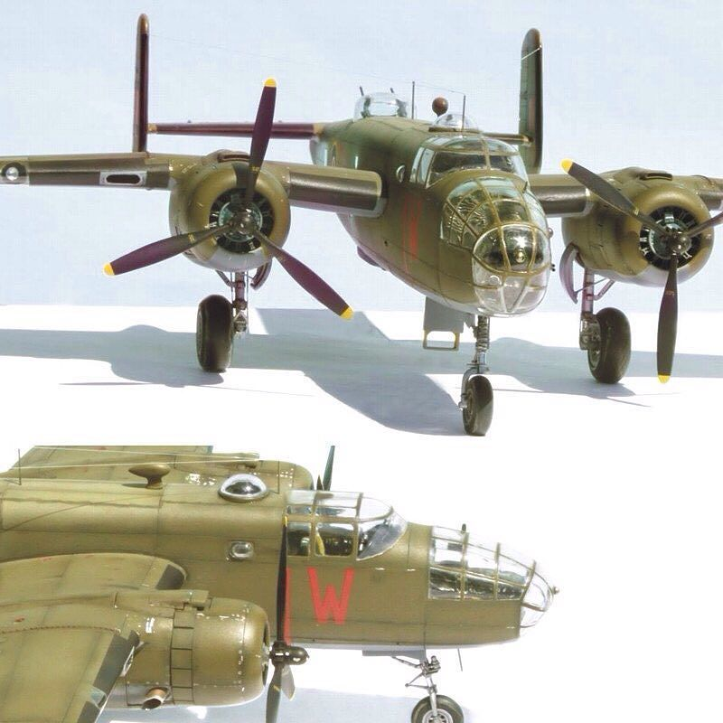 1/48 British B-25 Mitchell  PART2 By Etienne du Plessis From