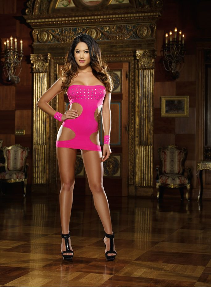 Sexy Dresses For Women Deep V Neck Halter Backless Slit Mini Party Club Dress