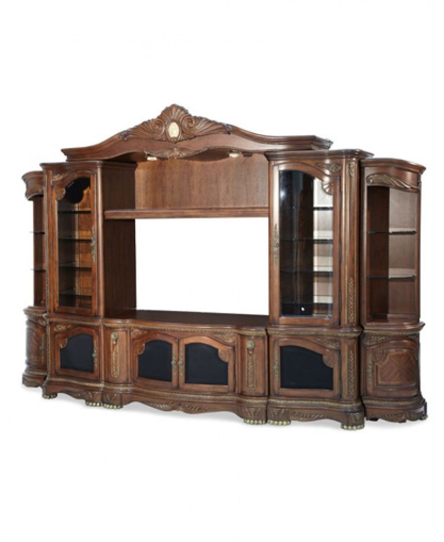 The cortina entertainment center is a great addition to your home