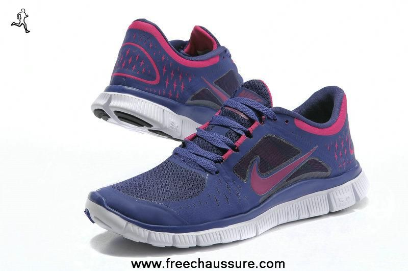 bleu gris pourpre 510642-501 femmes nike free run 3 sports chaussures magasin
