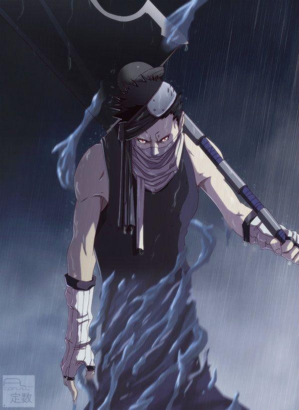 Momochi Zabuza Naruto By Aconst Deviantart Com On Deviantart Naruto Naruto Characters Naruto Uzumaki