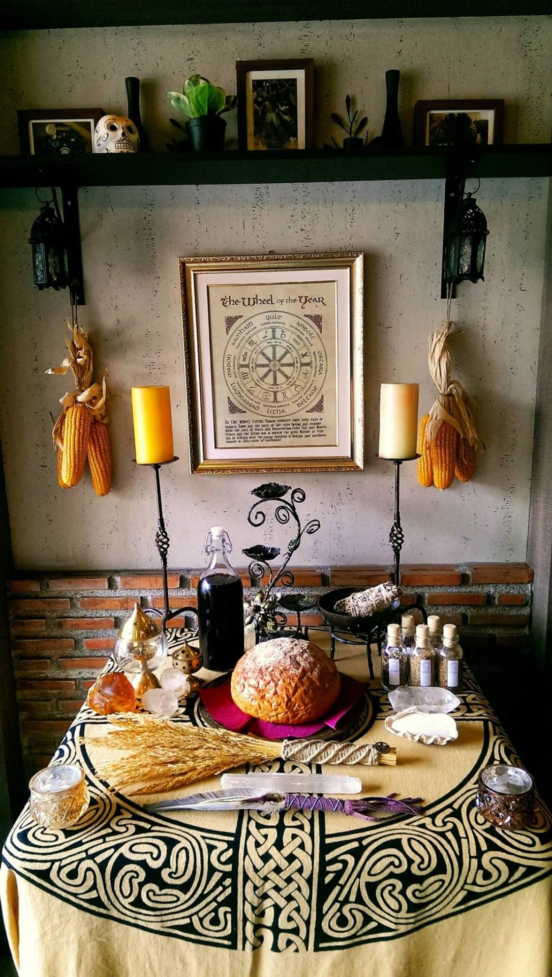 Lagnadan Lughnasadh Ceremony 2014 Ace Of Cups The Witch