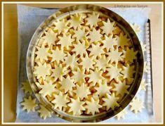 ich hab da mal was ausprobiert: winterlicher Apfelkuchen mit Sternendecke #blätterteigrosenmitapfel