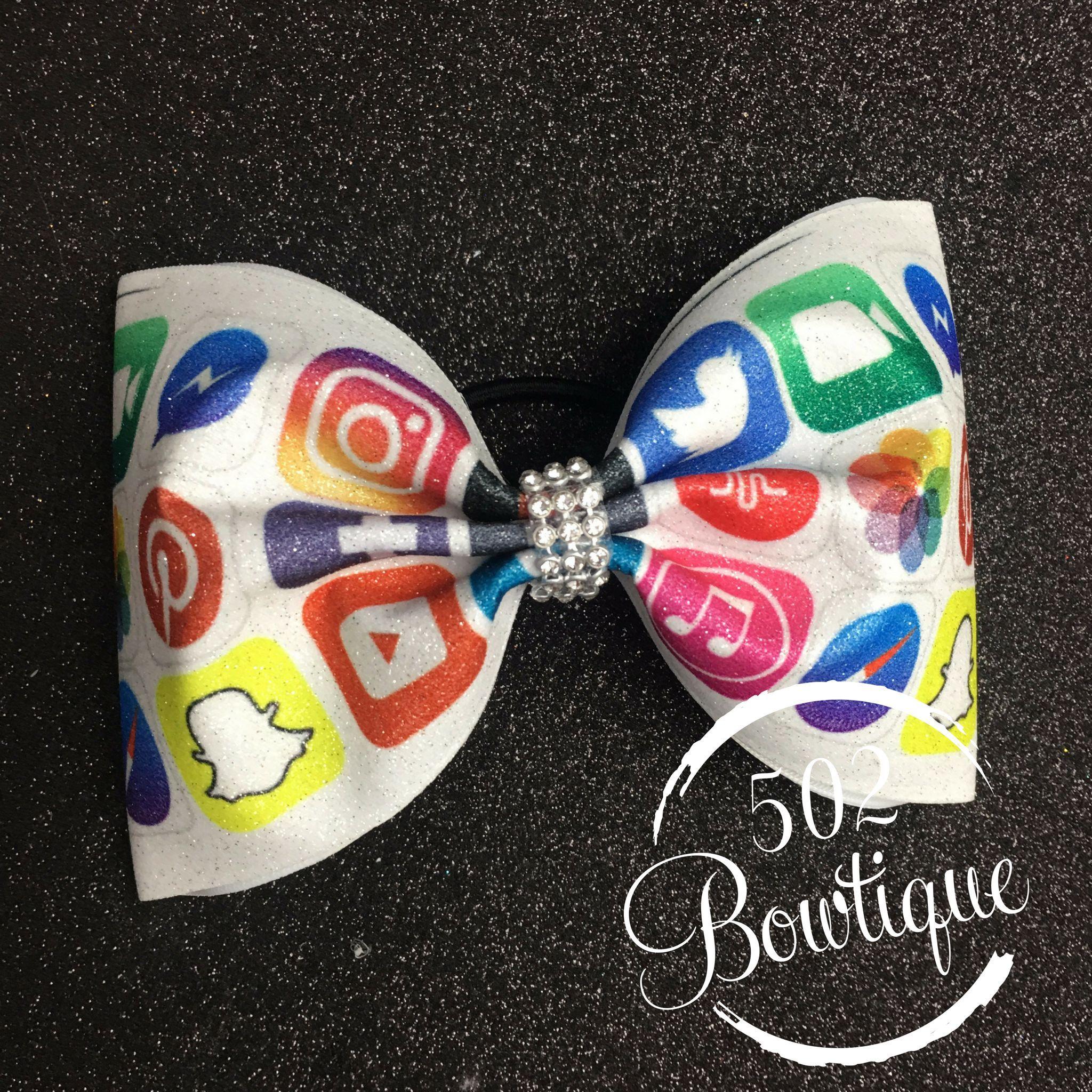 8dcbd8b0ba0f Made of Diamonds Glitter Cheer Bow | cheer bows Le'BowtiqueKY | Cheer bows,  Bows, Diamond glitter