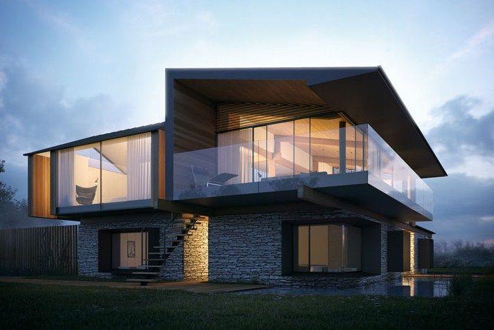fachadas para casas modernas 2016 arte gr fico