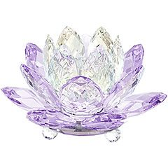 Waterlily Candleholder Violet