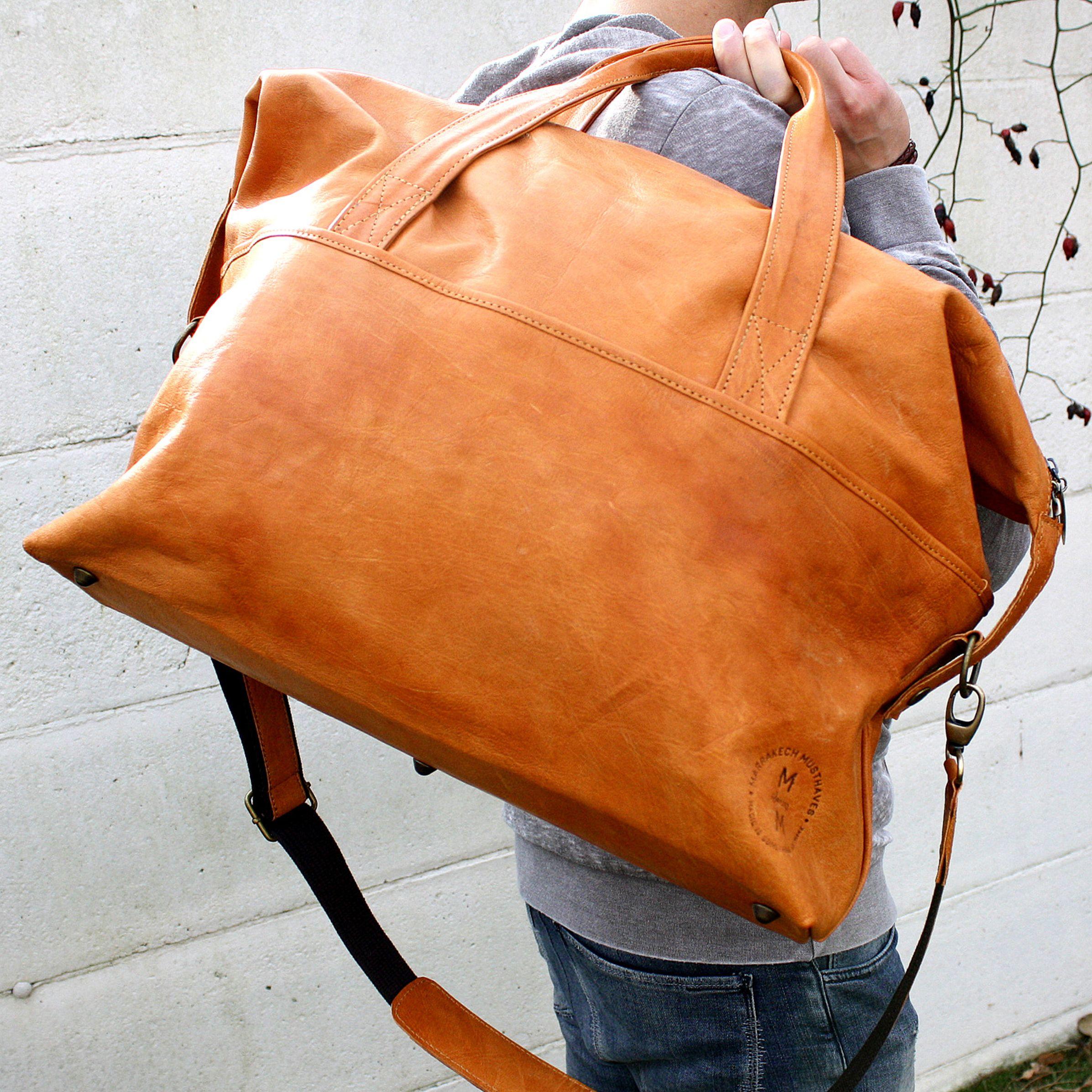 MM Weekender - #weekendbag #leather