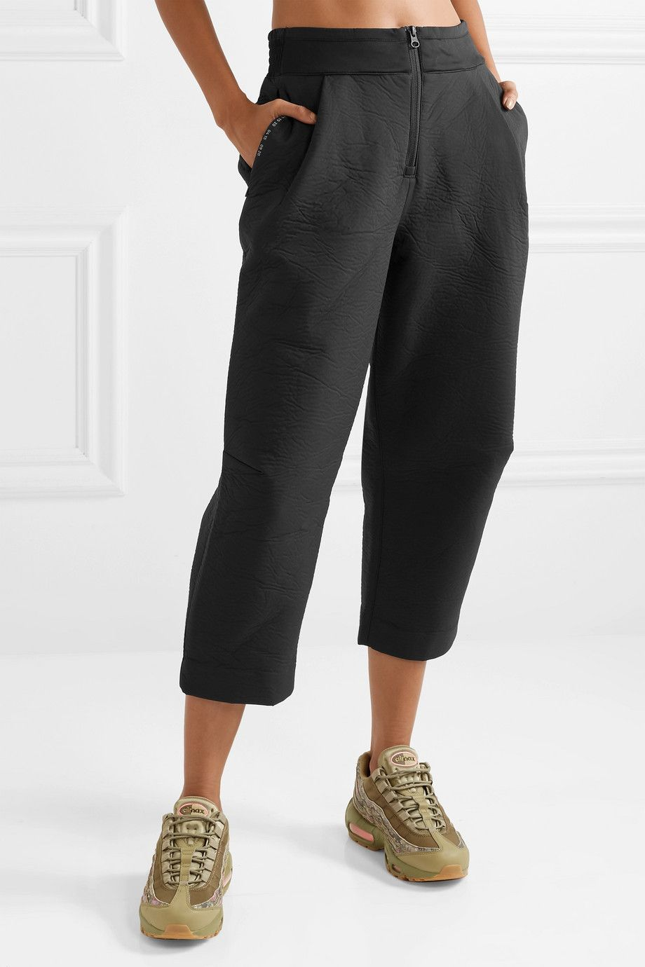 0125c7f1bbc84a Nike | Tech Pack cropped wide-leg neoprene track pants | NET-A-PORTER.COM