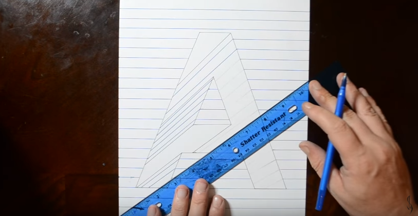 3 Dimensi Gambar Rumah 3d Menggunakan Pensil Tentunya
