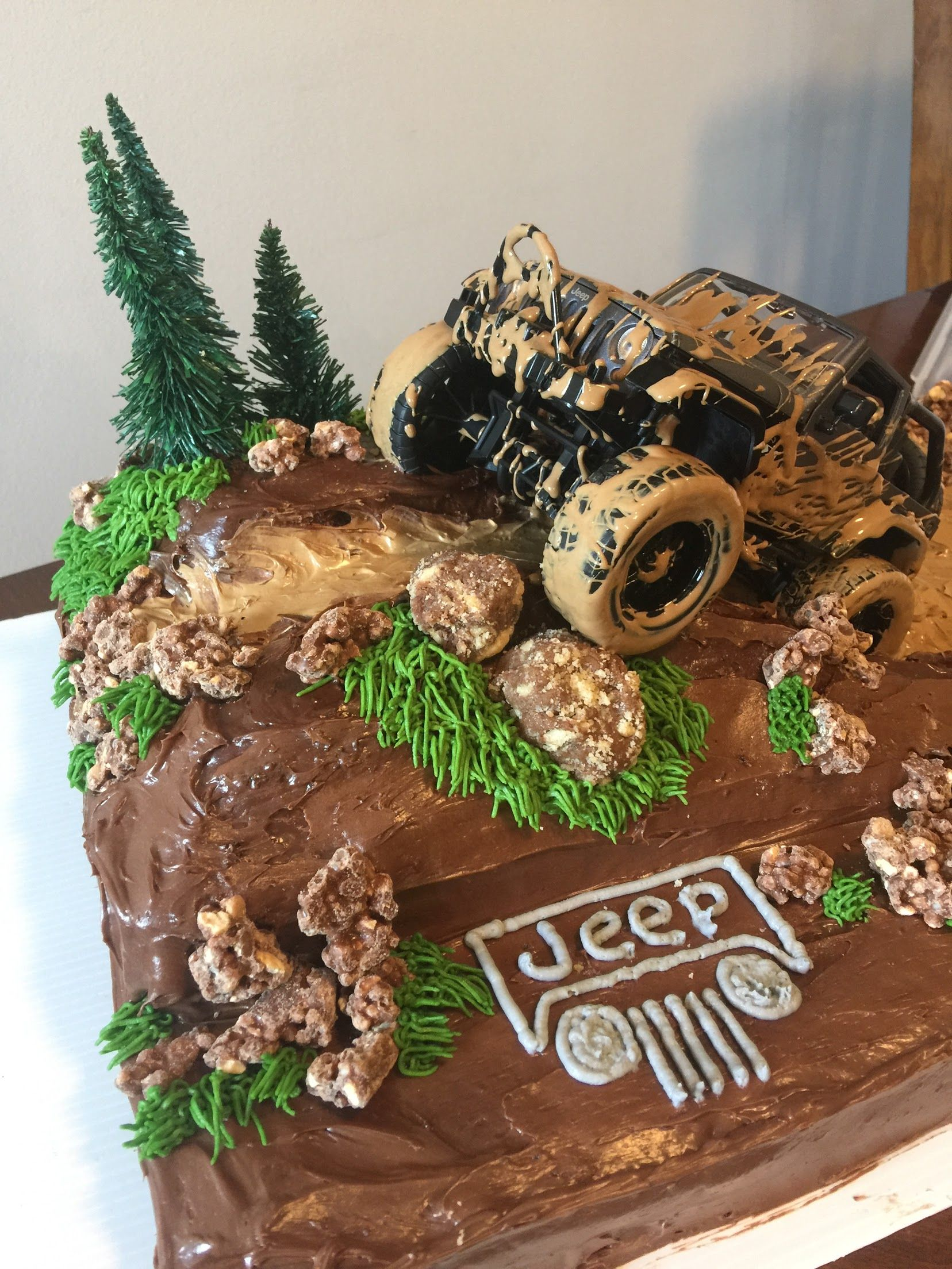 Brilliant Jeep Mudding Cake Cake Desserts Food Funny Birthday Cards Online Aboleapandamsfinfo