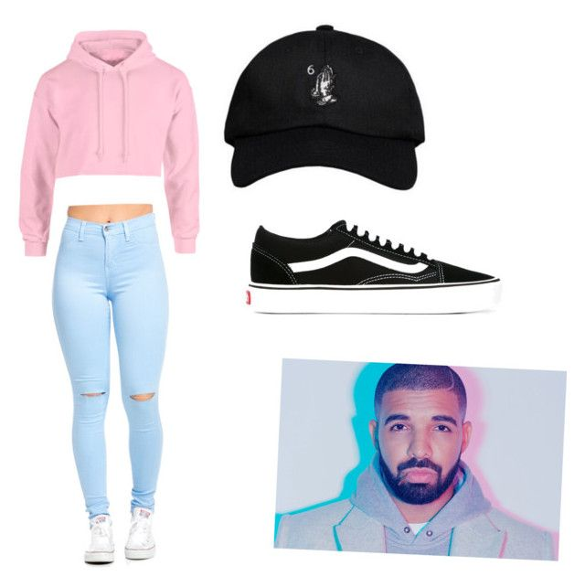 """""""On Tour with Drake!!"""" by alyssaloweryxo ❤ liked on Polyvore featuring Vans"""