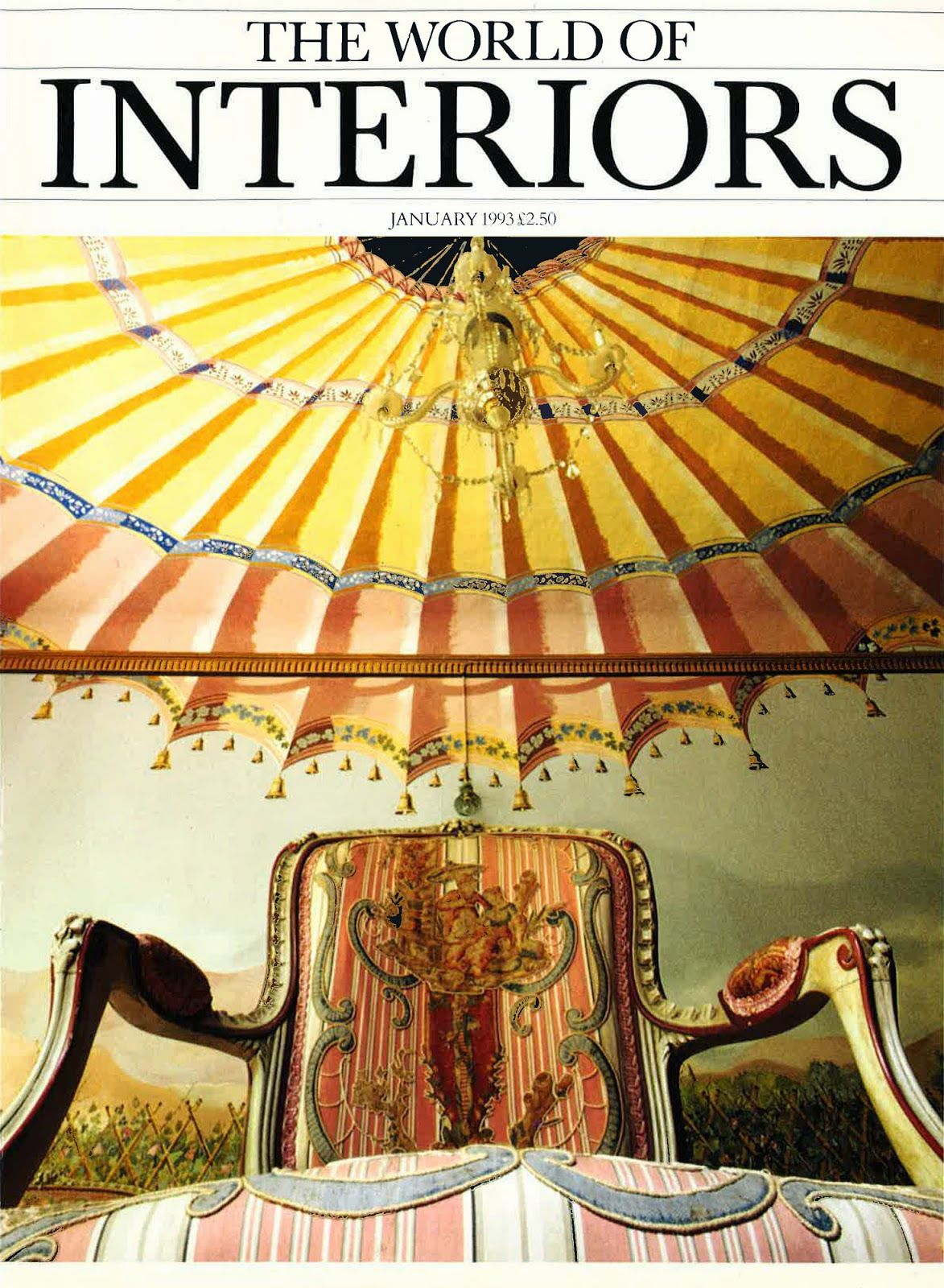 THE WORLD OF INTERIORS: JANUARY 1993