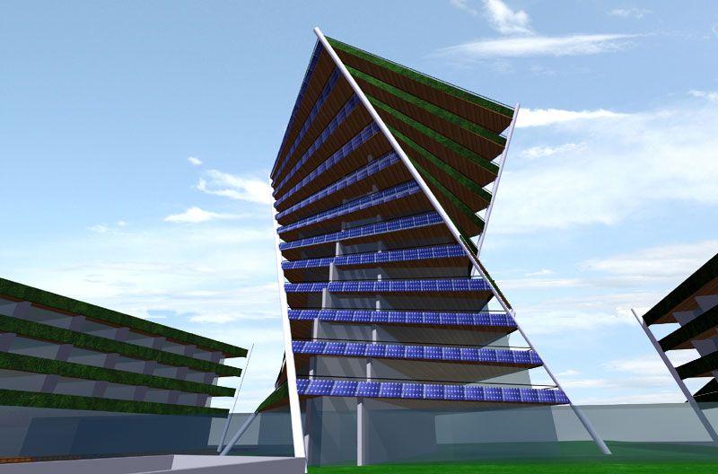 Ecotoren Heerlerbaan - Wauben Architects