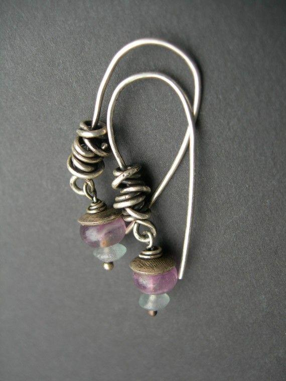 Earrings | Boucles d\'oreilles | Pinterest | Ohrschmuck, Draht und ...