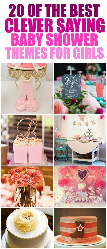 Over 50 Creative Baby Shower Themes For A Baby Girl Including The