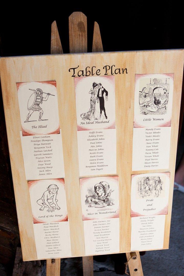 Homemade Book Themed Wedding Boho Weddings Wedding Plans