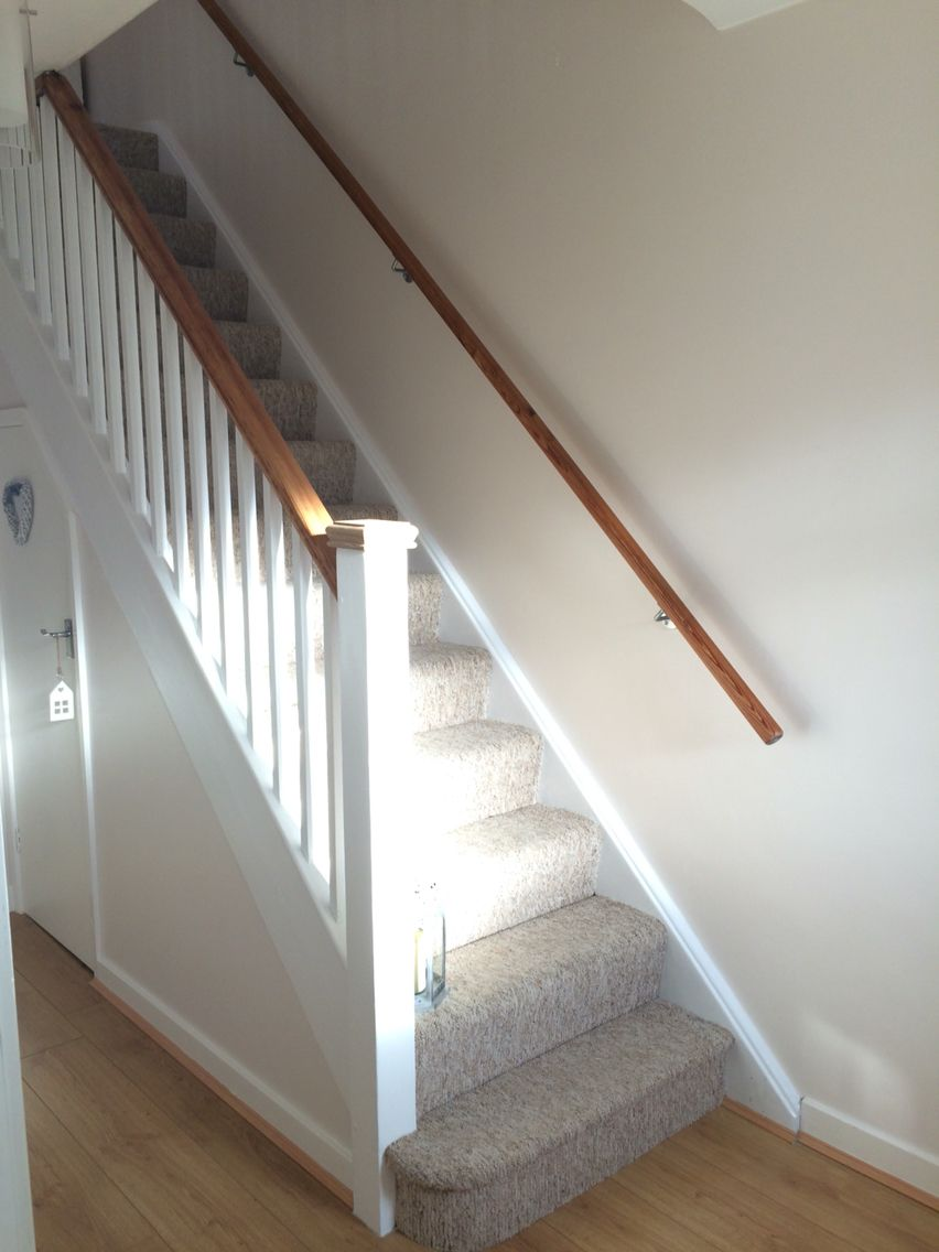 Best Staircase Was All Natural Wood Now Just All Vertical 400 x 300