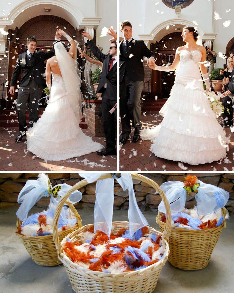 Unique Wedding Confetti Alternatives And Ideas