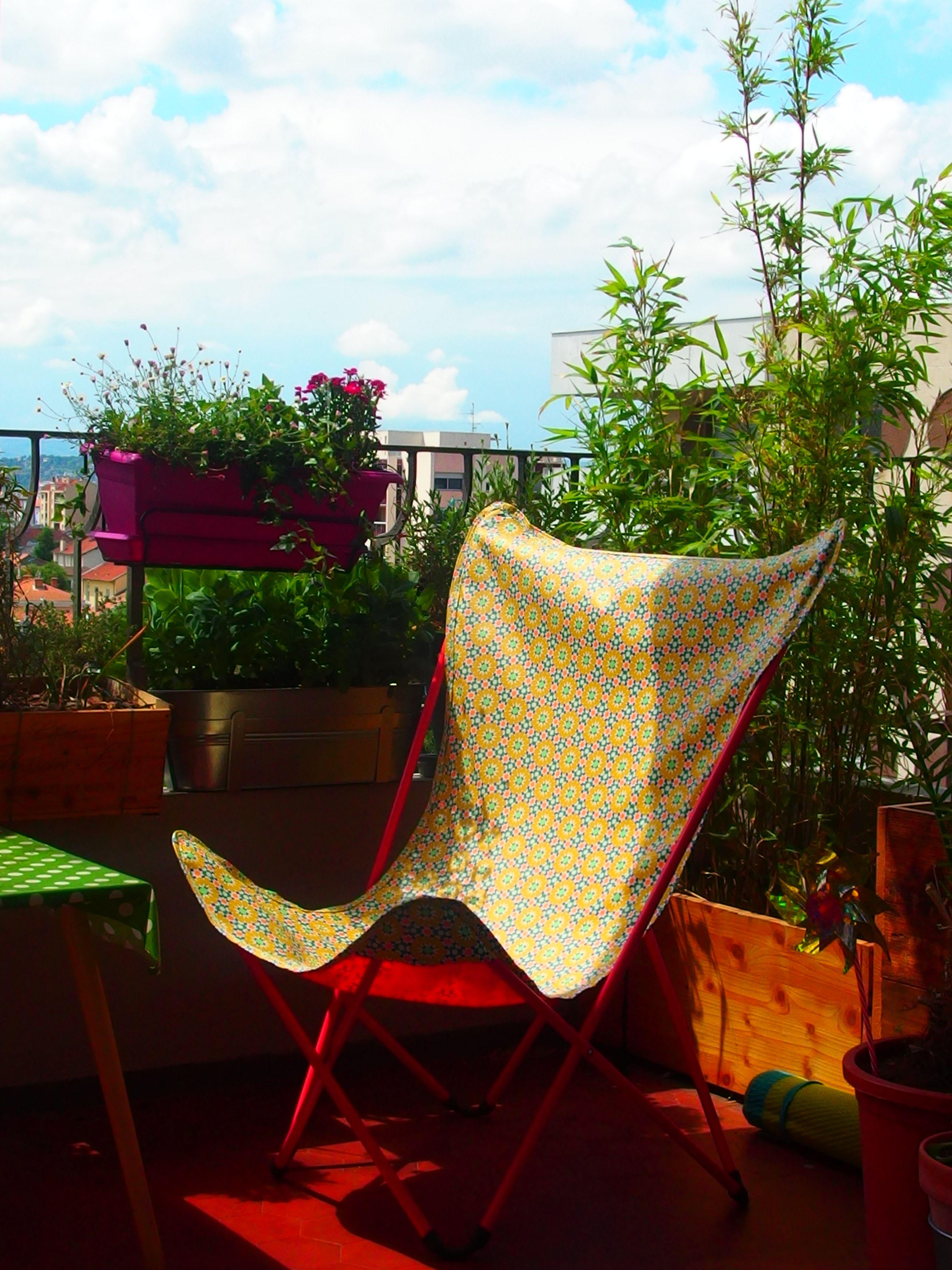 Comment Faire Une Housse De Fauteuil housse diy - fauteuil maxi pop up lafuma - déco balcon en
