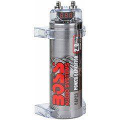 Boss CAP2S 2 Farad Capacitor (Silver) | Organize later