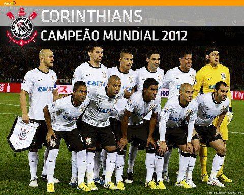 Poster Corinthians Bicampeão Mundial De Clubes Do Japão