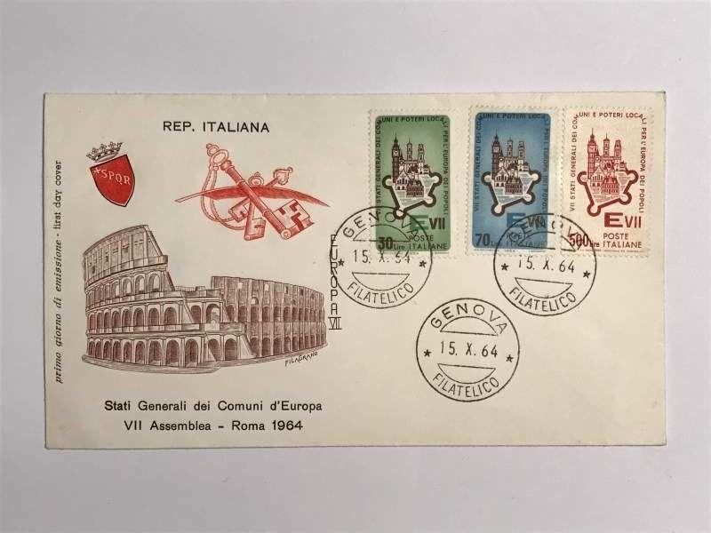 Repubblica Italiana - Stati Generali Comuni d'Europa - 1964