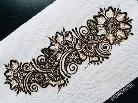Image Result For Mehndi Designs On Paper With Pencil Simple Mehndi