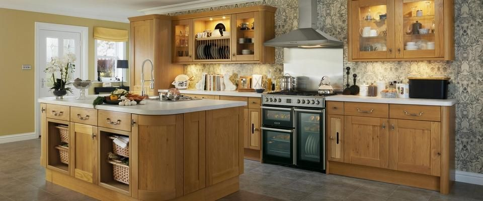 Tewkesbury Oak Howdens Kitchen Shuttleworth Kitchen