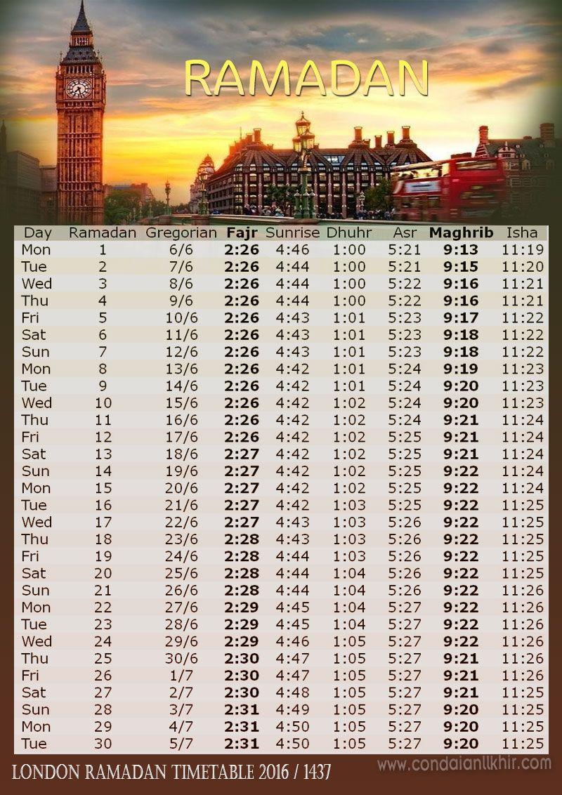 كن داعيا للخير امساكية رمضان 2016 1437 فى العواصم العالمية Ramadan Calendar Ramadan Ramadan Time Table Printable Prayers