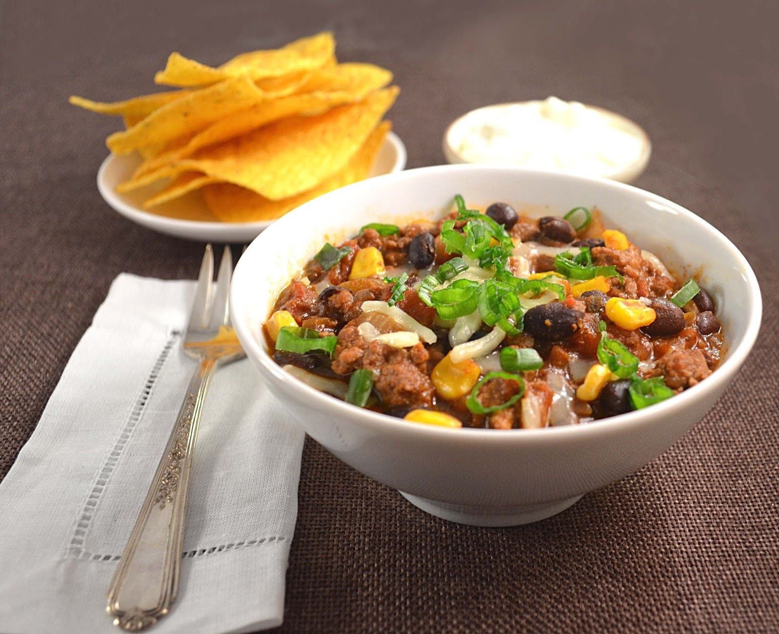 Thick & Hearty Diner-Style Chili