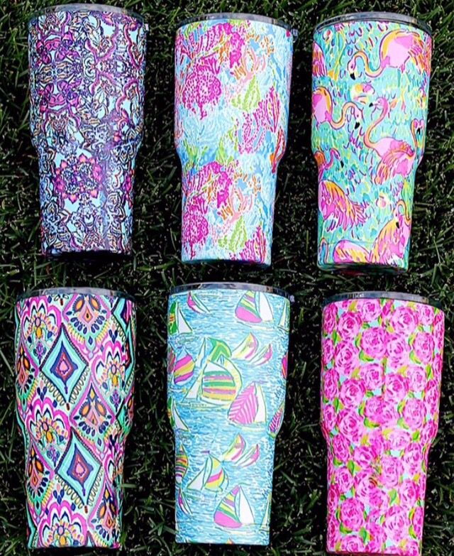 lilly pulitzer tumblers