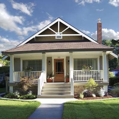 Best Curb Appeal Before And Afters 2009 Craftsman Style Homes Craftsman House Craftsman Bungalows