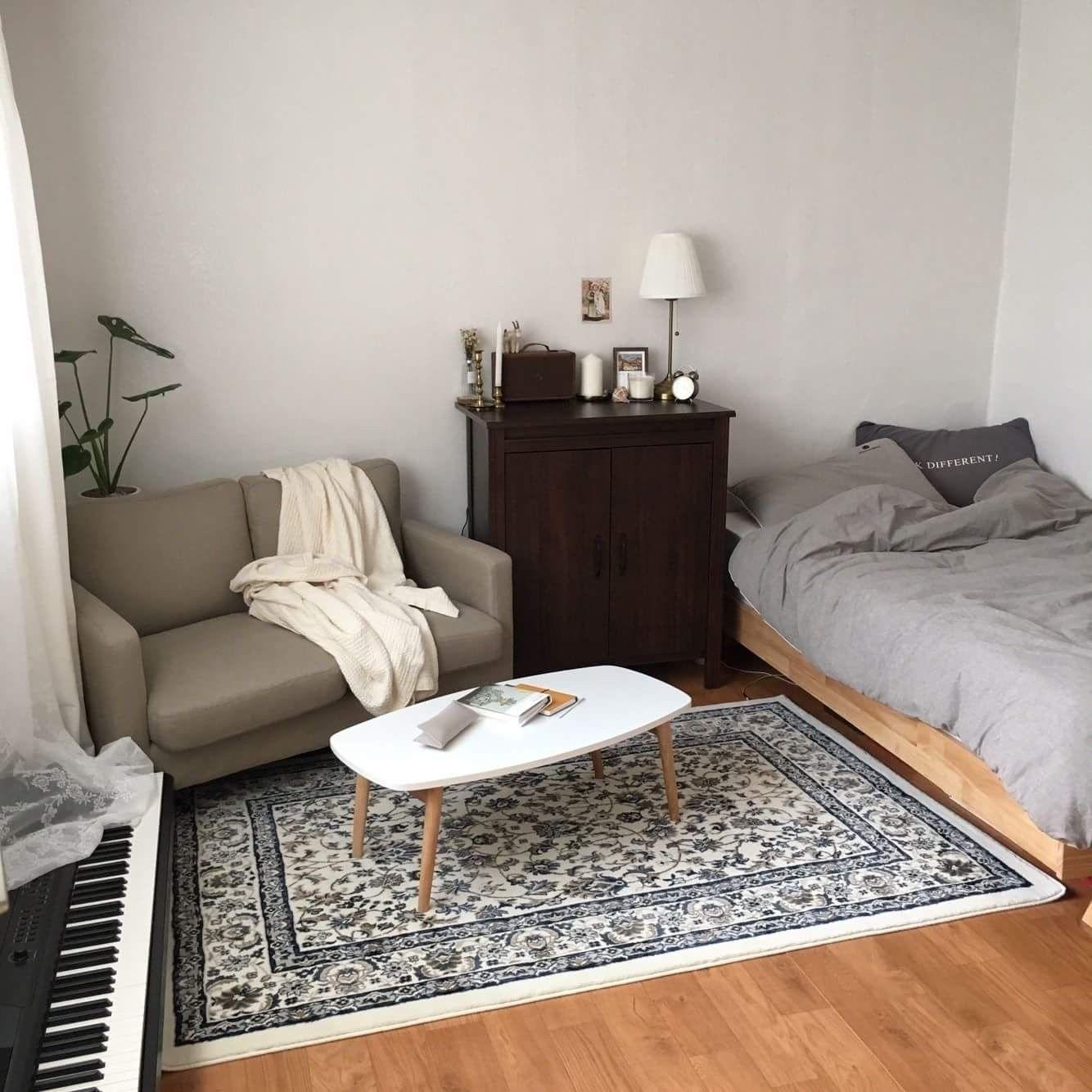 Elegant Bedroom Pics: 37+ An Elegant Studio Apartment Ideas [with Pictures