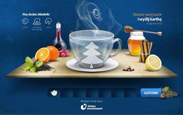 UI christmas e-card by Nutsoo Studio, via Behance #e-mail #design #card #christmas #food #mail #email