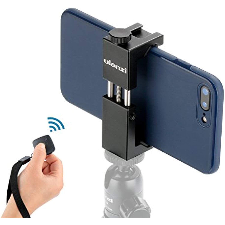 Ulanzi Cell Phone Tripod Adapter - Metal iPhone Tripod Mount