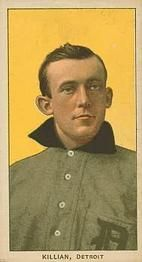 1909-11 The American Tobacco Company T206 White Border #252 Ed Killian (Portrait) Front