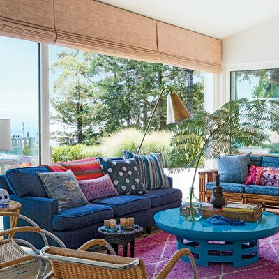 Living Spaces · Take Notes From This Super Trendy Northern California Beach  House.