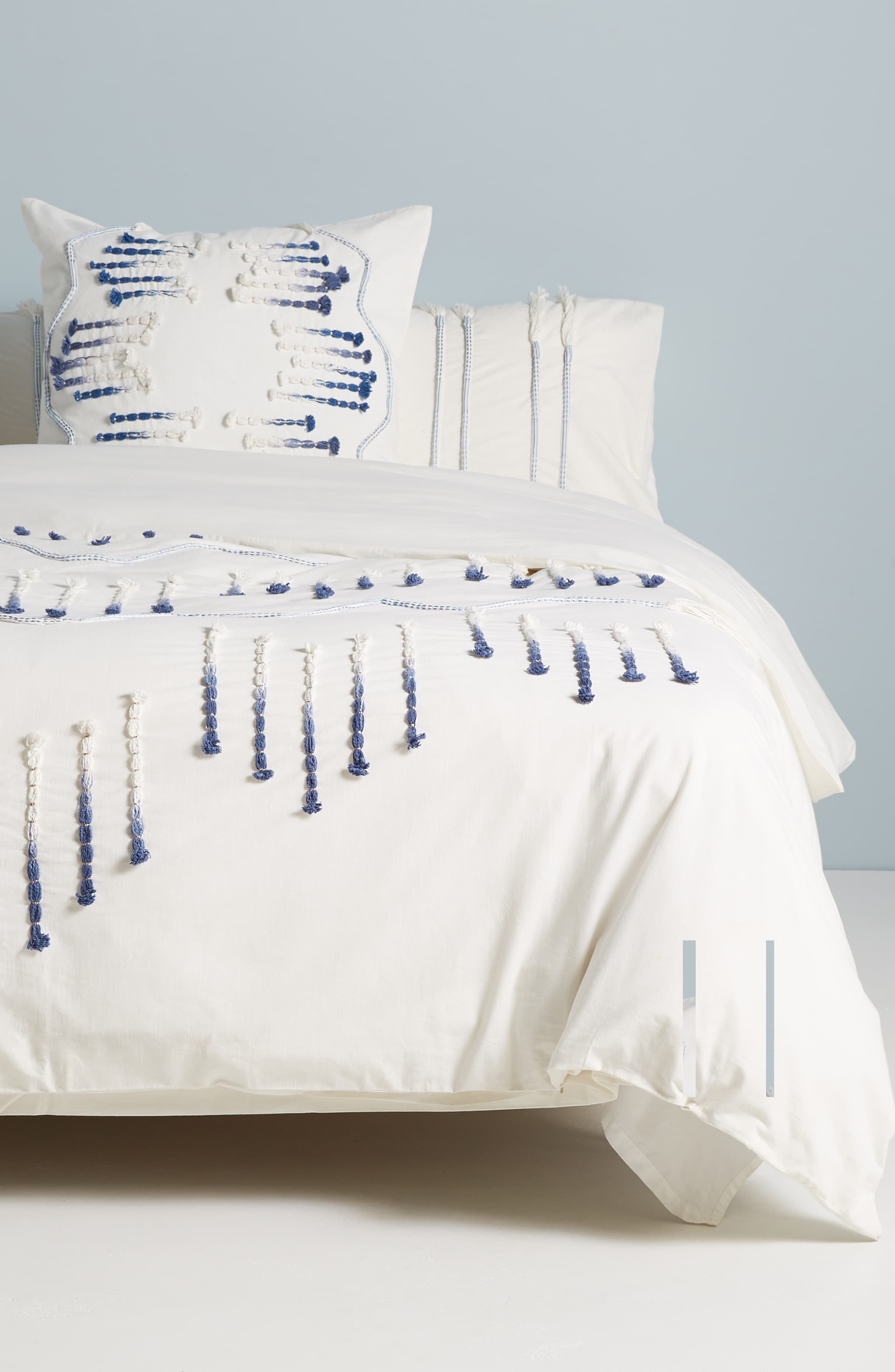 Anthropologie Home Eula Duvet Cover Size Queen Ivory Nordstrom