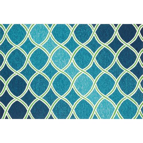Loloi Rugs Venice Beach Blue Green Rug Indoor Outdoor Area Rugs