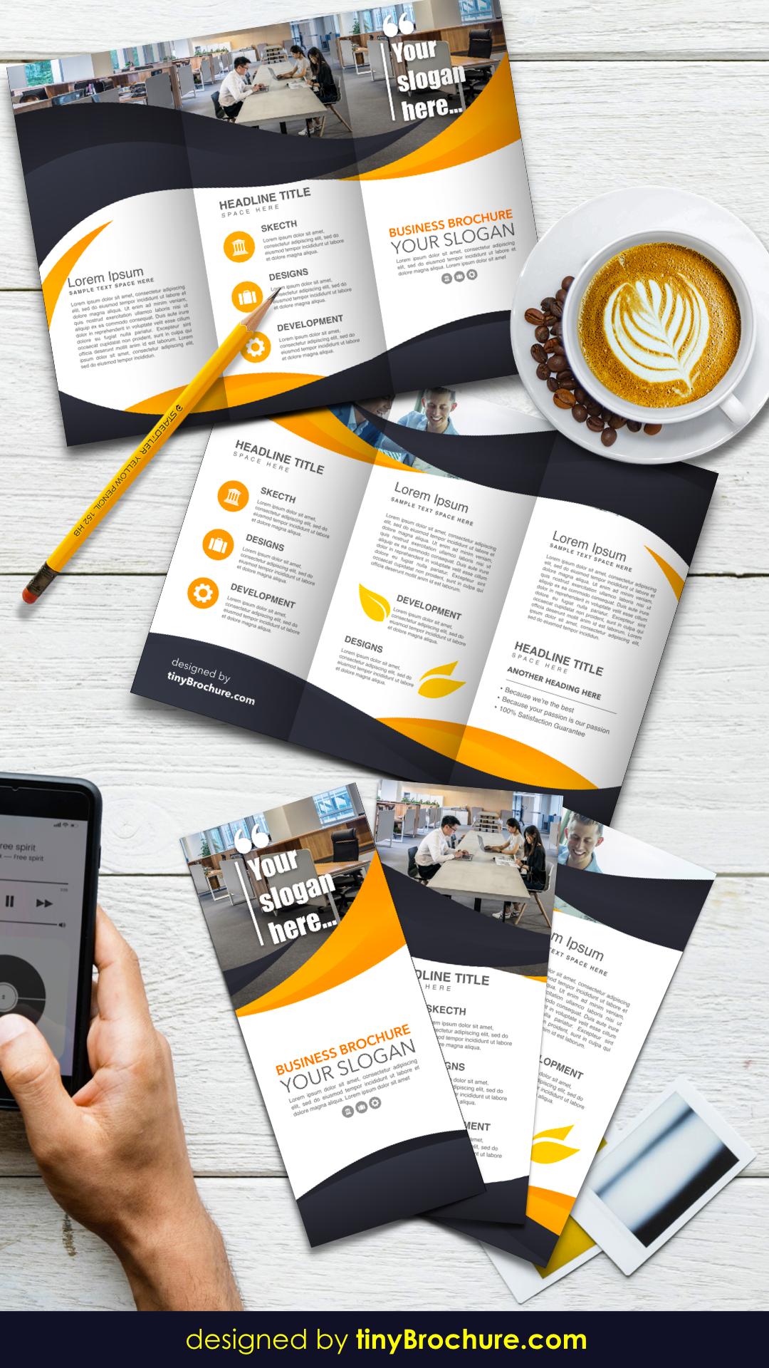 3 Panel Brochure Template Google Docs Brochure Template Pamphlet Template Brochure Design Template