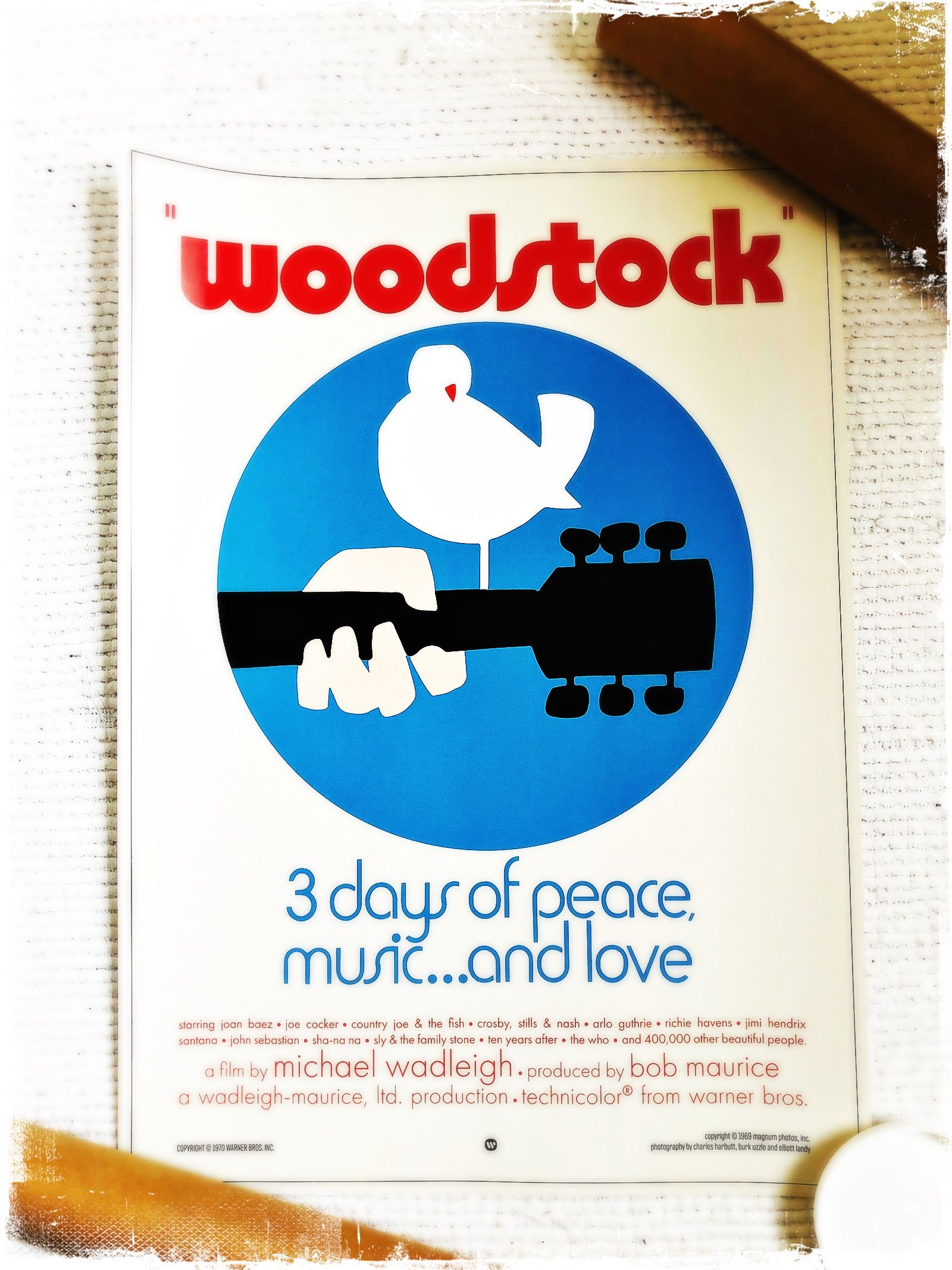 Woodstock Movie Poster A2 420 X 594 Mm 16 5 X 23 4 Inch Ebay In 2020 Woodstock Music Woodstock Movie Posters