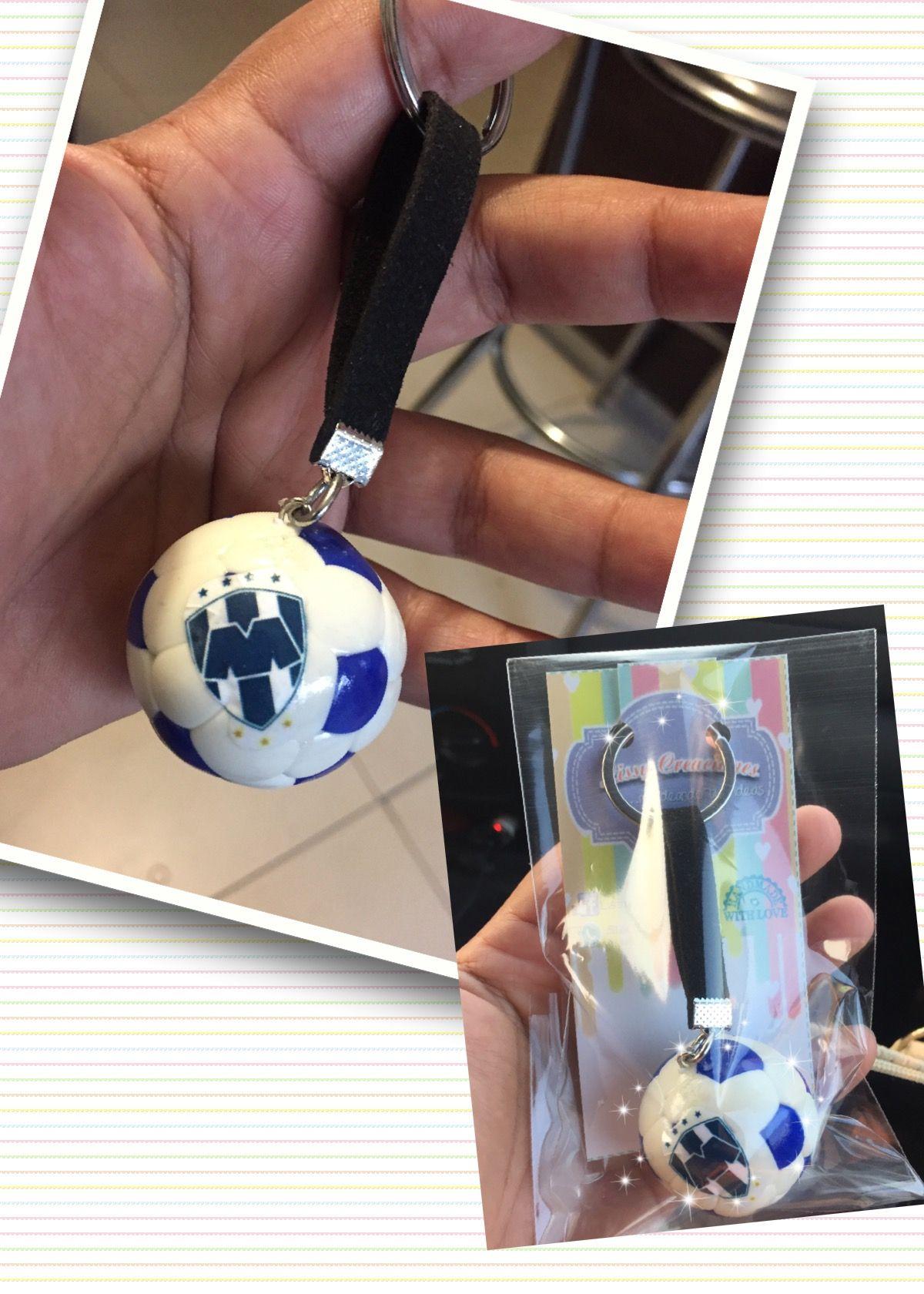 Balón futbol Rayados porcelana fria