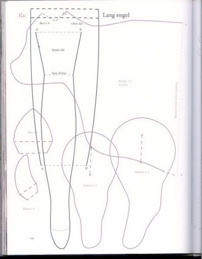 Koe maar heel veel meer patronenATELIER CHERRY: Bonecas Tilda ...