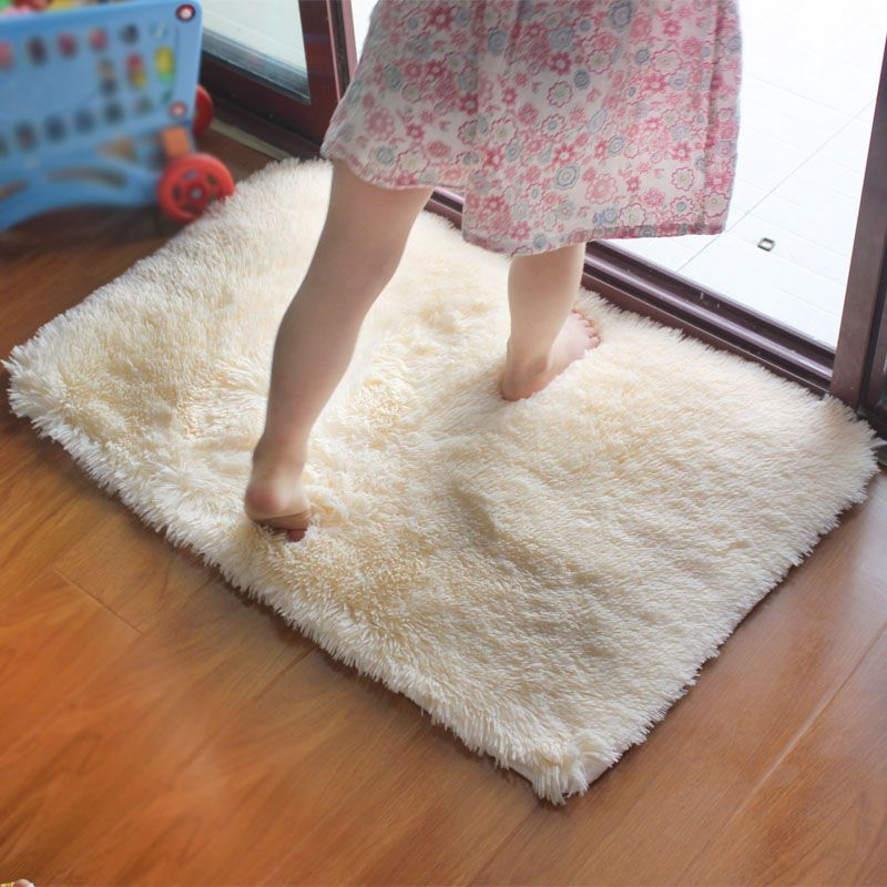 Shaggy moderno bagno tappetino da bagno antiscivolo 40*60 cm/15.74 * 23.62in