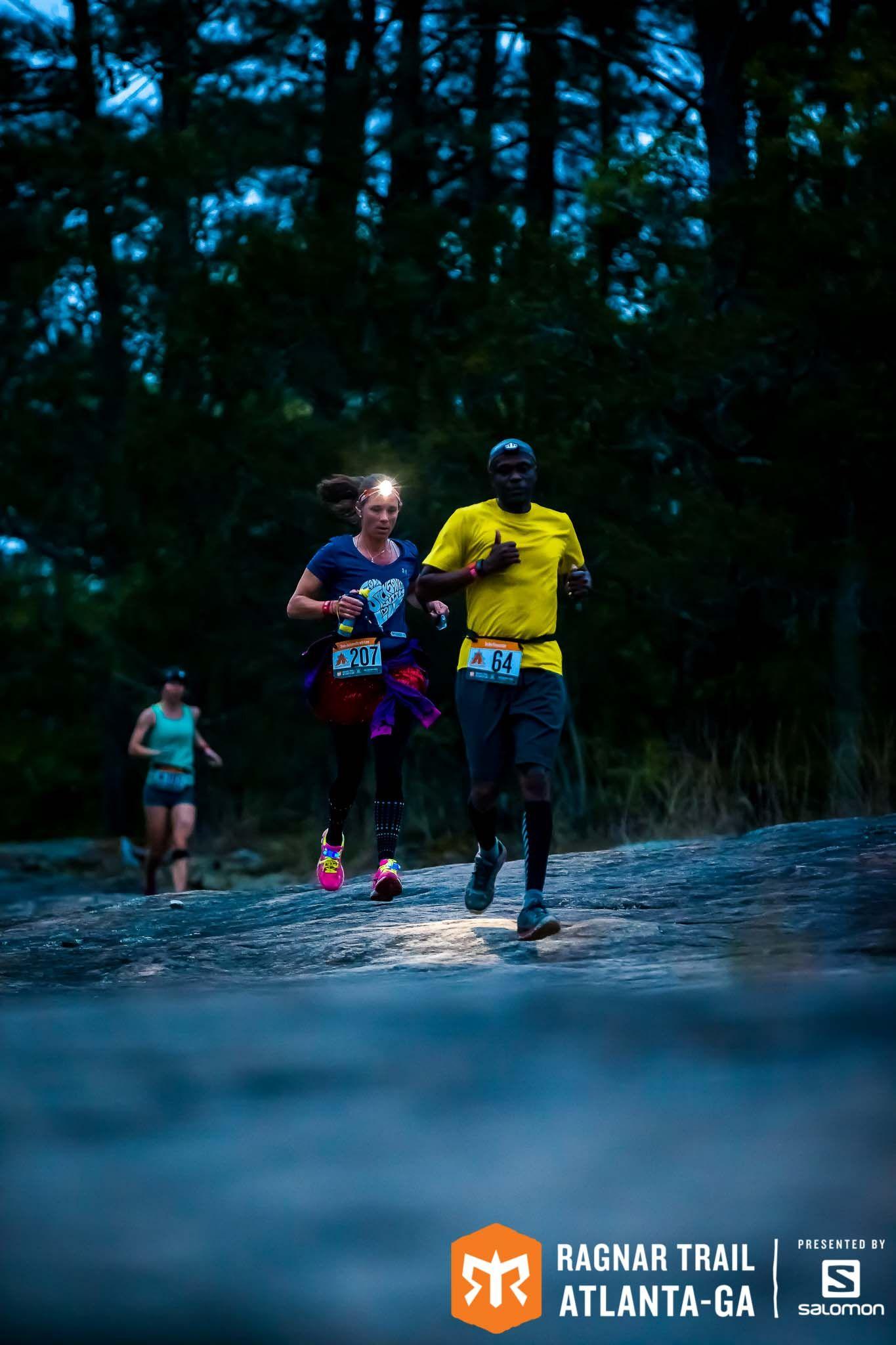 Run. Camp. Sleep? Repeat. At Ragnar Trail Atlanta - GA, presented by Salomon. April 21-22, 2017.