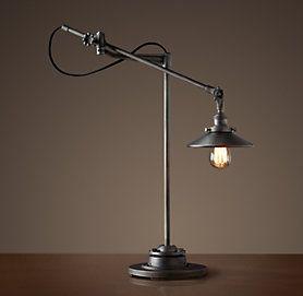 Table Restoration Hardware Lampe Lampes De Table Eclairage Interieur