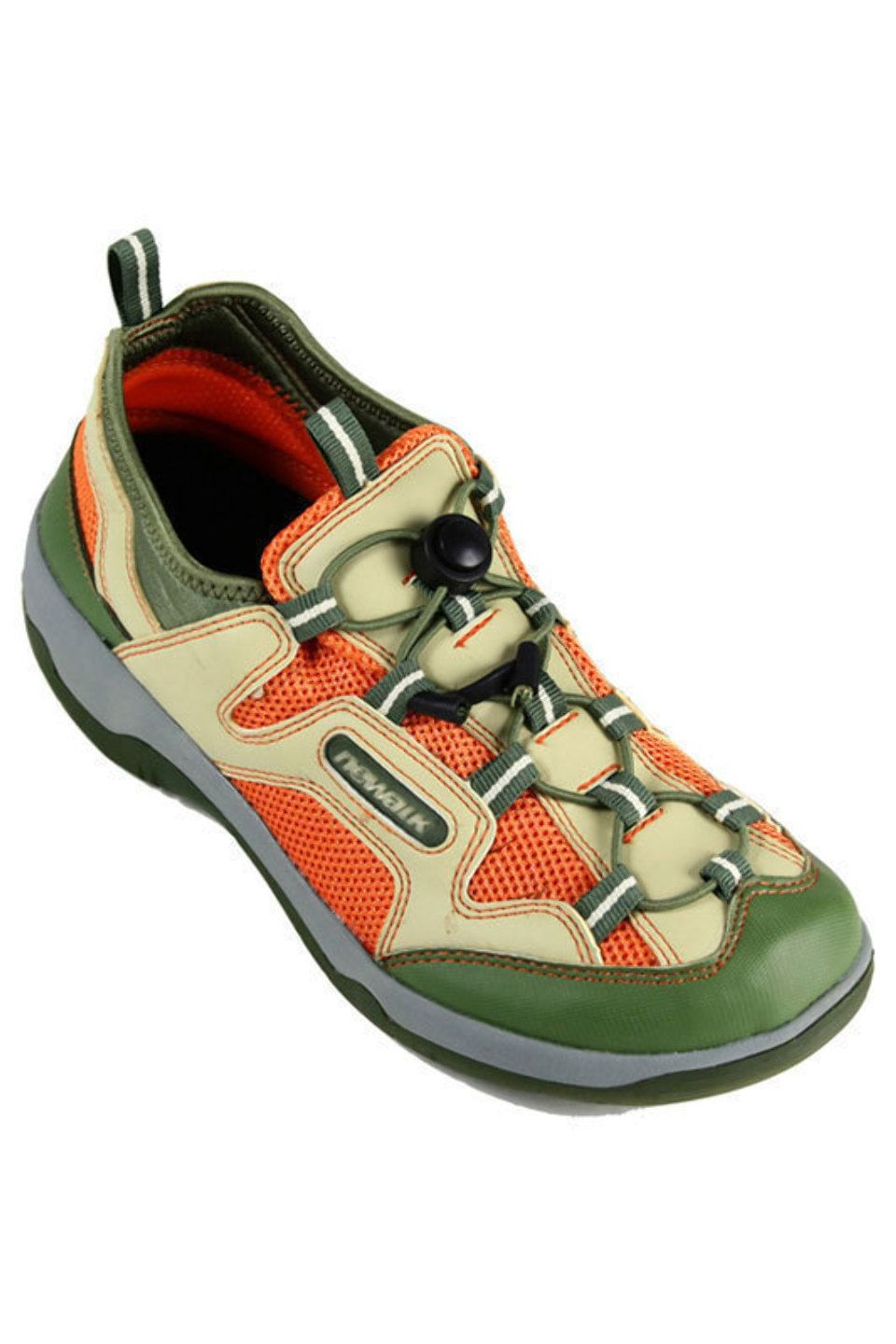d1a65810bb06f1 Newalk by Birkenstock Men s Zonta Syn Tex Sneaker In Harvest   Pumpkin -  Beyond the Rack More my style. haha